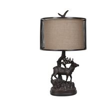 "Buck ""Hunter's Walk"" Table Lamp | Crestview Collection | CVCCVAER1200"
