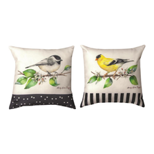 Grove Song Birds Pillow |  Manual Woodworkers | SDPGSB