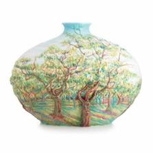 Van Gogh White Orchard Vase | FZ0267 | Franz Porcelain Collection