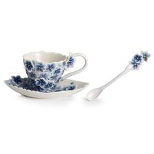 Floral Bouquet Cup Saucer Spoon | FZ01934 | Franz Porcelain Collection