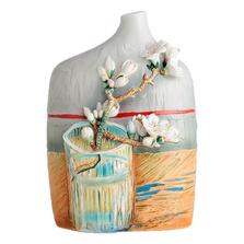 Van Gogh Blossoming Almond Branch Porcelain Vase | FZ02683 | Franz Porcelain Collection