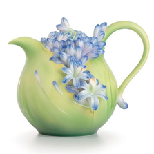 Lily of the Nile Flower Teapot | FZ02616 | Franz Porcelain Collection