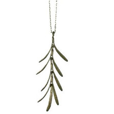 Rosemary Dangle Pendant Necklace | Michael Michaud Jewelry | SS7792BZ -2