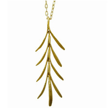 Rosemary Gold Plated Pendant Necklace | Michael Michaud Jewelry | SS7792BZG