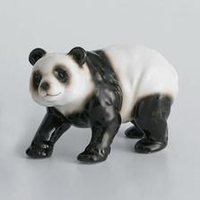 Panda Bear Walking Sculptured Porcelain | FZXP1001C | Franz Collection