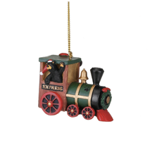 Bearfoot Express Ornament |Big Sky Carvers | BSC3005070211
