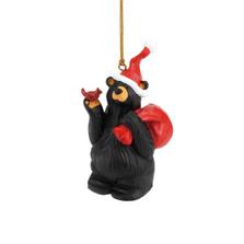 Nick the Elf Bear Ornament |Big Sky Carvers | BSC3005070216