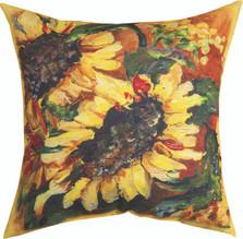 Sunflower Indoor/Outdoor Pillow | Manual Woodworkers | SLNSFL