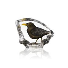 Blackbird Crystal Sculpture | 34301 | Mats Jonasson Maleras