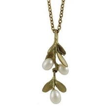 Boxwood Petite Pendant | Michael Michaud Jewelry | SS7800bzwp -2