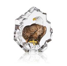 Bald Eagle Crystal Sculpture | 34801 | Mats Jonasson Maleras