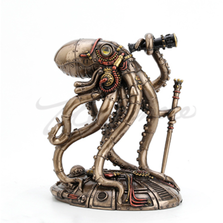 Steampunk Seabed Hiker Octopus | Unicorn Studios | WU77772A4