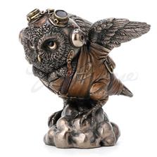 Flying Ace Aviator Owl Sculpture | Unicorn Studios | WU77781A4