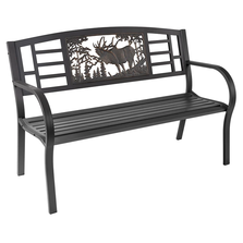 Elk Outdoor Bench | Painted Sky | TSB-EK
