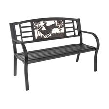 Bucks Outdoor Bench   Painted Sky   TSB-BK