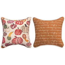 Pumpkin Square Throw Pillow | SLPMKN