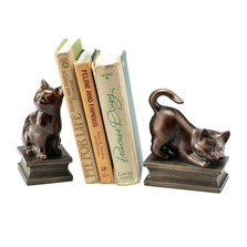 Playing Cat Bookends | 50648 | SPI Home