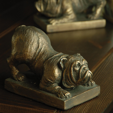 Bulldog Bookends | 50207 | SPI Home