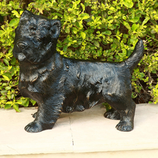 Furry Puppy Companion Sculpture |  21017 |SPI Home