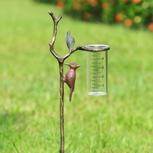 Woodpecker Wide Mouthed Rain Watcher on Stake | 34144 | SPI Home