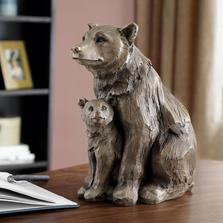 Bear and Cub Desktop Decor | SPI Home | 48112