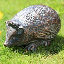 Timid Hedgehog Garden Sculpture   SPI Home  51066
