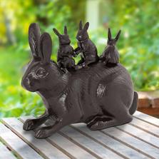 Bunny Bonanza Garden Sculpture | 53007 | SPI Home