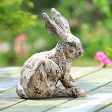Scratching Rabbit Garden Sculpture | 48128 | SPI Home