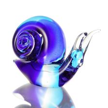 Snail Art Glass Sculpture | 20117 | SPI Home