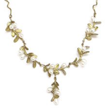 Boxwood Twigs Necklace | Michael Michaud Jewelry | SS7922bzwp -2