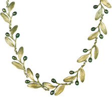 Olive Necklace | Michael Michaud Jewelry | SS8147bzop -2