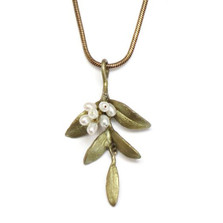 Flowering Myrtle Pendant Necklace | Michael Michaud Jewelry | SS8196bzwp