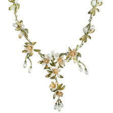Orange Blossom Shower Drop Necklace | Michael Michaud Jewelry | SS8206BZYP -2