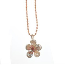 Cherry Blossom Pearl Pendant Necklace | Michael Michaud Jewelry | SS8281BZWP -2