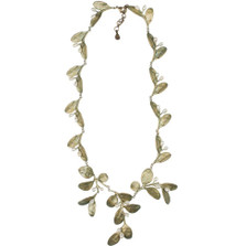 Boxwood Drop Collar Necklace | Michael Michaud Jewelry | SS8290BZWP