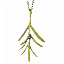 Rosemary Pendant Necklace Petite Herb | Michael Michaud Jewelry | SS8953BZ -2