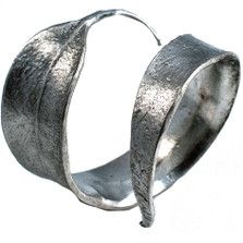 Eucalyptus Pewter Napkin Rings Set of 4  | Michael Michaud Table Art | TAnr9314ap