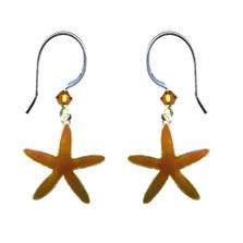 Sea Star Wire Earrings | Bamboo Jewelry | BJ0231e