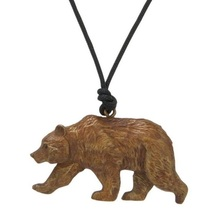 Grizzly Bear Pendant Necklace | Cavin Richie Jewelry | DMOKB34PEND