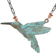 Hummingbird II Beaded Necklace | Cavin Richie Jewelry | DMOKB-65-2BN