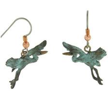 Heron Gliding Earrings | Cavin Richie Jewelry | DMOKBE-80-FH