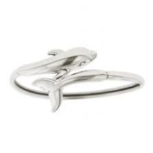 Dolphin Sterling Silver Bracelet | Kabana Jewelry | KBR144 -2