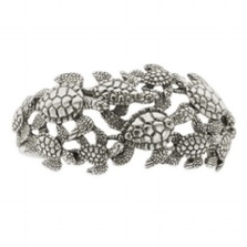 Sea Turtle Sterling Silver Cuff Bracelet | Kabana Jewelry | Kbr314 -2