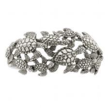 Sea Turtle Sterling Silver Cuff Bracelet | Kabana Jewelry | Kbr314 -2