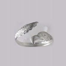 Northwestern Eagle Sterling Silver Cuff Bracelet | Kabana Jewelry | Kbr620