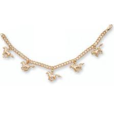 Horse 14K Gold Charm Bracelet | Kabana Jewelry | Kgbr386