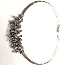 Horse Herd Sterling Silver Neck Collar Necklace | Kabana Jewelry | Kp704