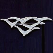 Seagulls Sterling Silver Pin | Kabana Jewelry | Kpn097 -2