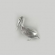 Pelican Sterling Silver Pin | Kabana Jewelry | Kpn481