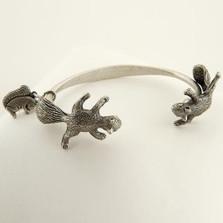 Squirrel Cuff Bracelet | La Contessa Jewelry | LCBR8235